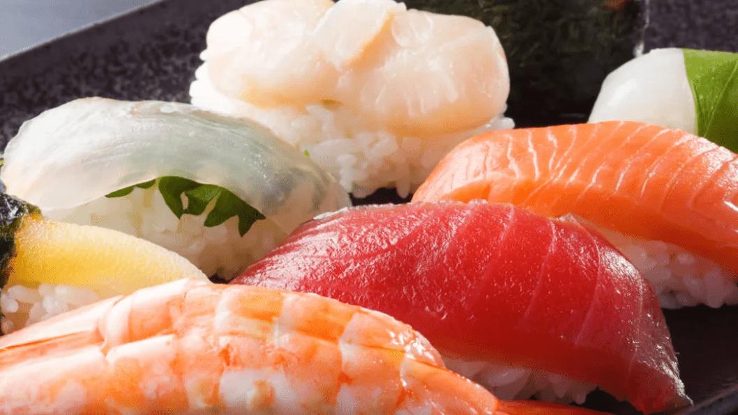 Sushi at Himesyara in Sapporo