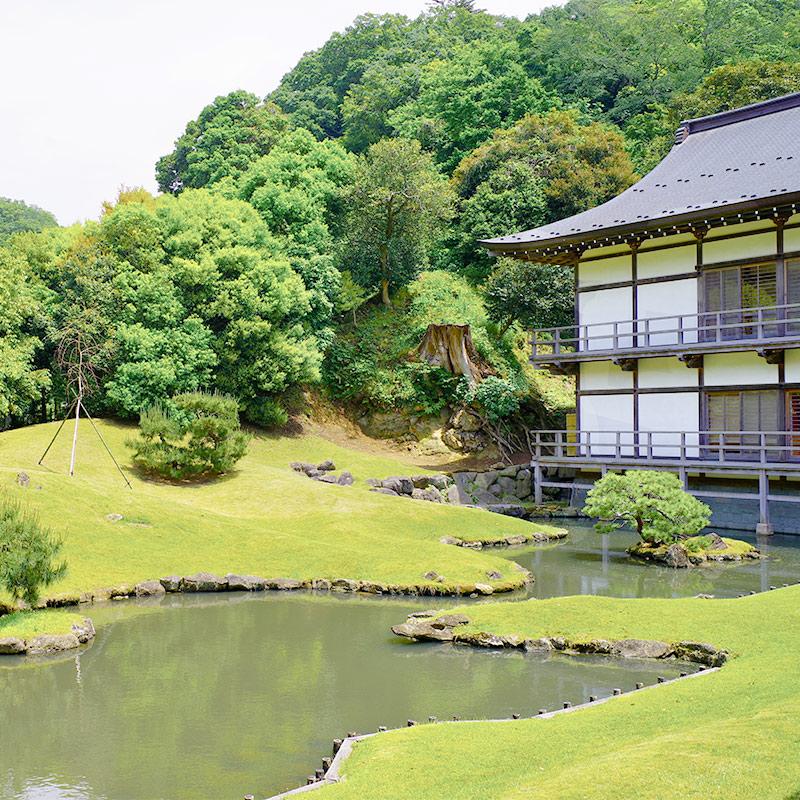 Japanese Garden in Kamakura