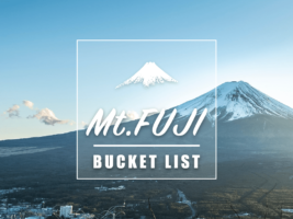 Best Things to Do around Mt Fuji : Mt Fuji Bucket List