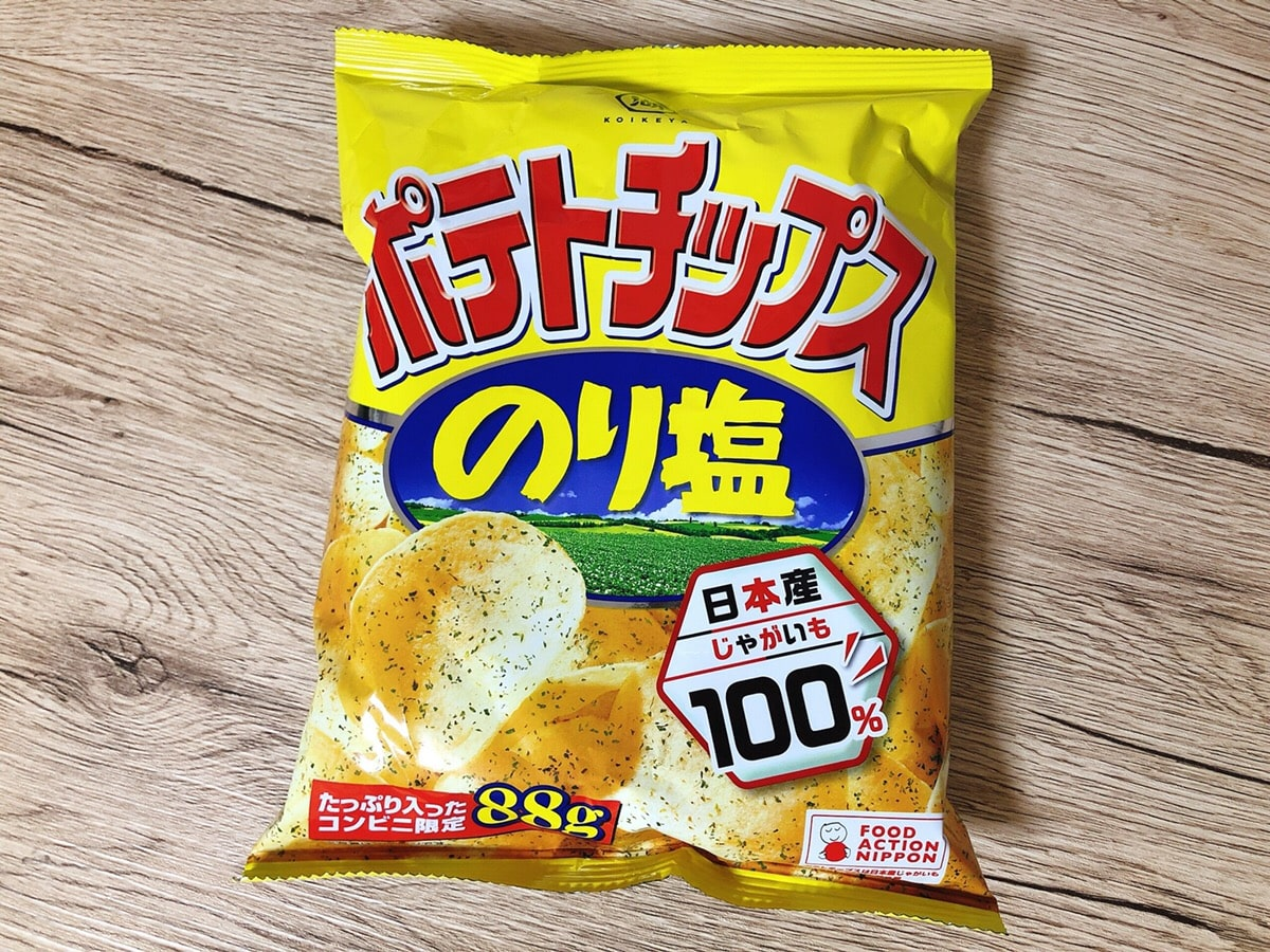 Koikeya Potato Chips Salt & Seaweed