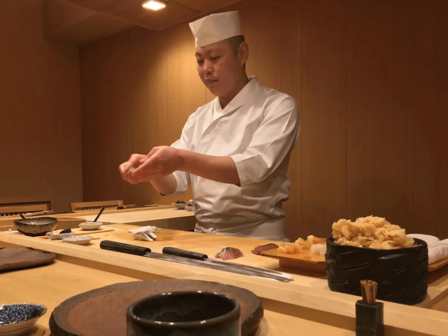 Chef at GinzaIwa