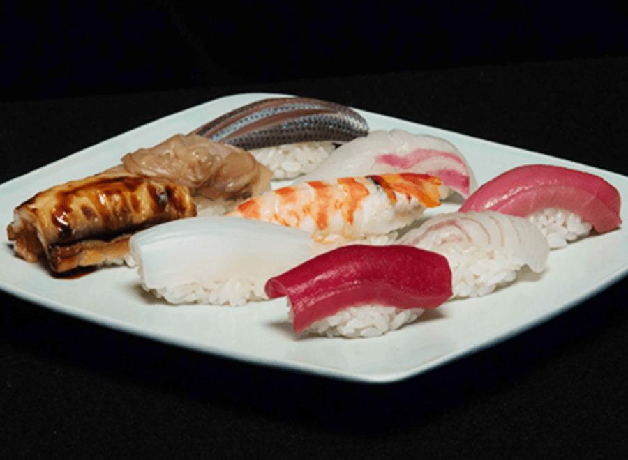 Sushi at SushiKanesaka