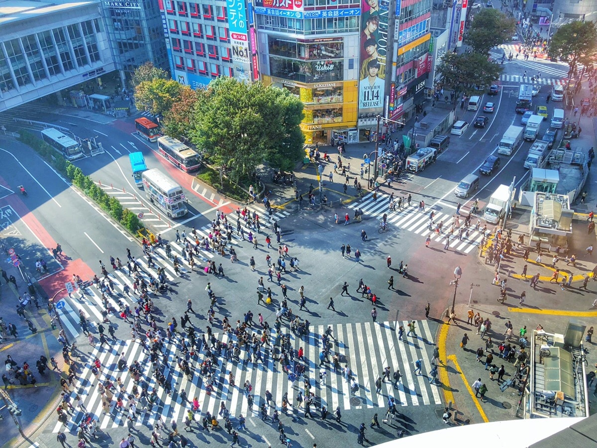 Shibuya Crossing (渋谷交差点)