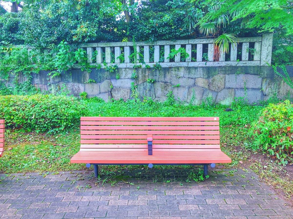 Bench at Shiba Park