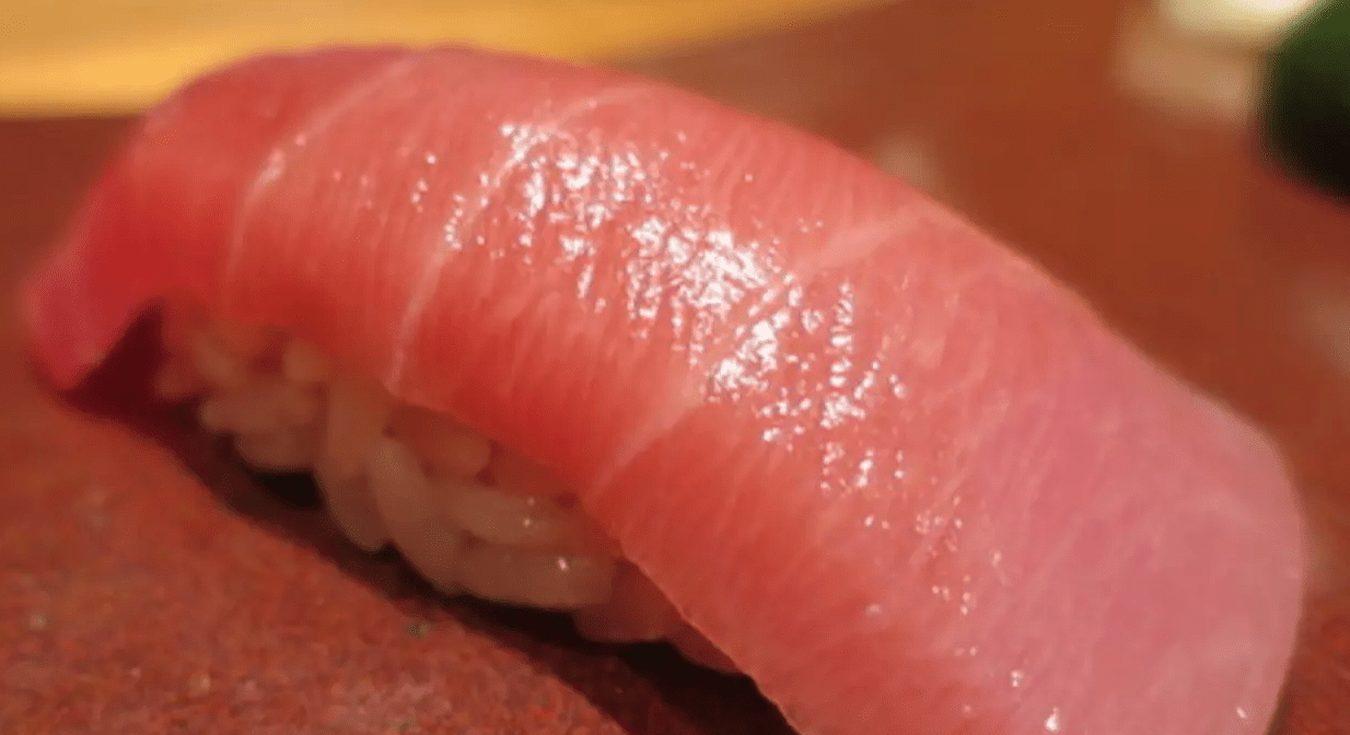 Tuna Sushi at Ginza Sushi-ichi