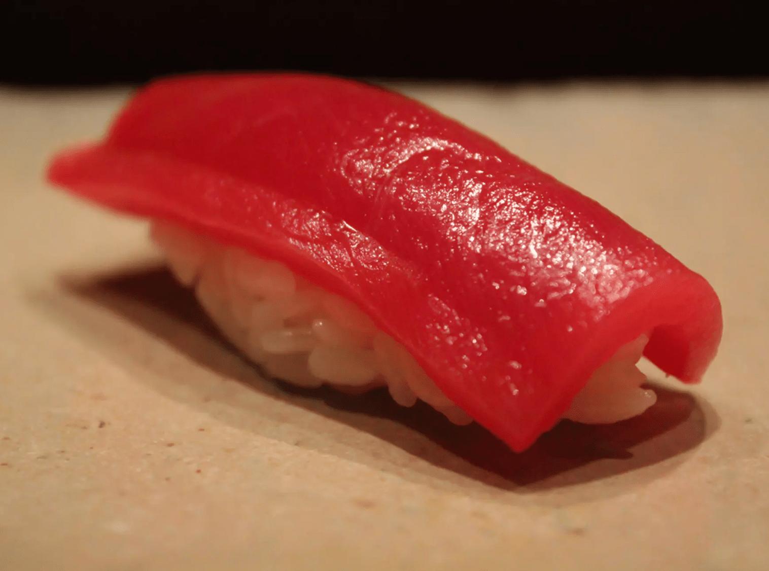 Tuna Sushi at Sushiya