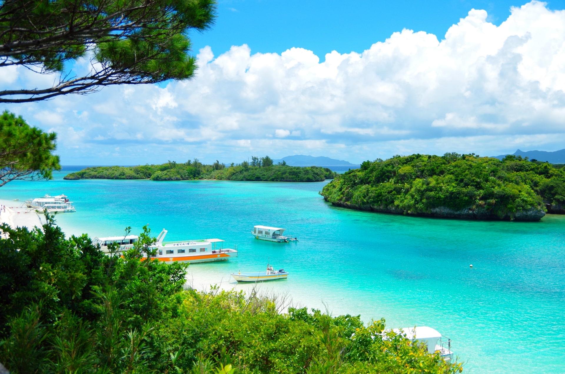 Kabira Bay in Ishigaki Island, Okinawa
