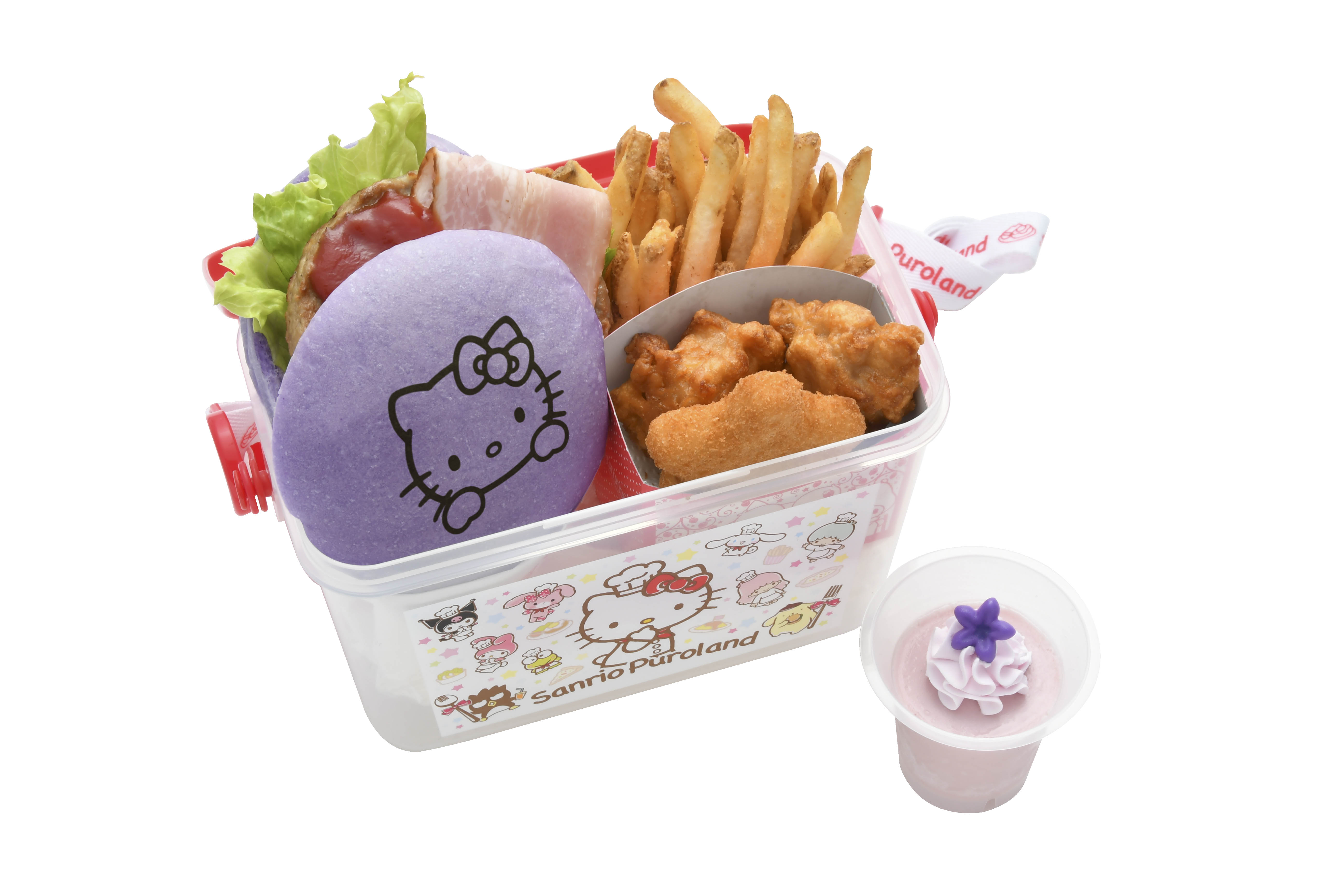 Character Food at Sanrio Puroland