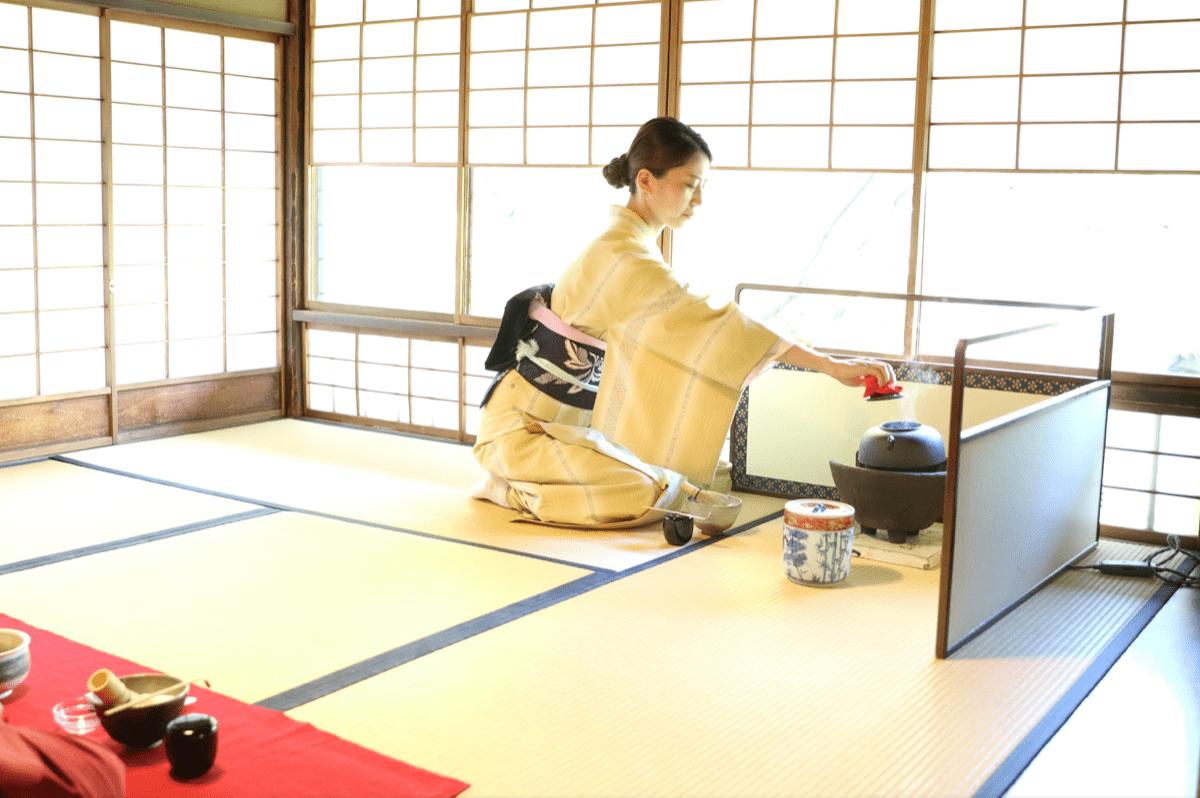 Kimono Tea Ceremony Tokyo MAIKOYA