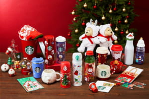 Starbucks Japan Christmas Tumbler and Mug