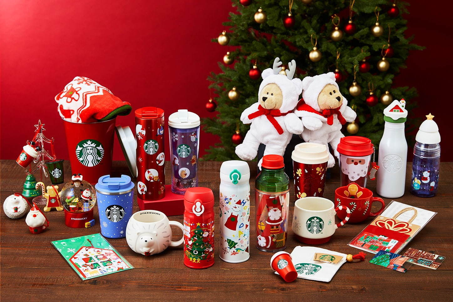 Starbucks Japan Christmas Tumbler and Mug 2019