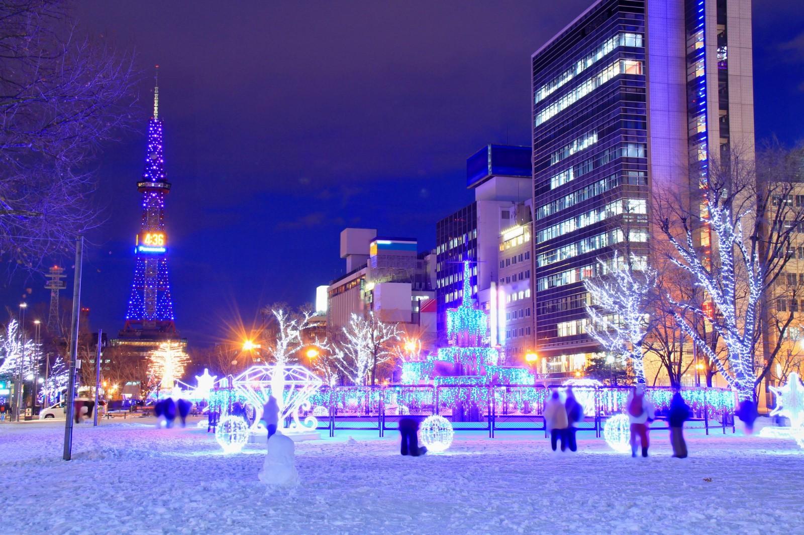 Sapporo White Illumination 2019–2020