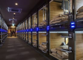 7 Best Capsule Hotels in Shinjuku