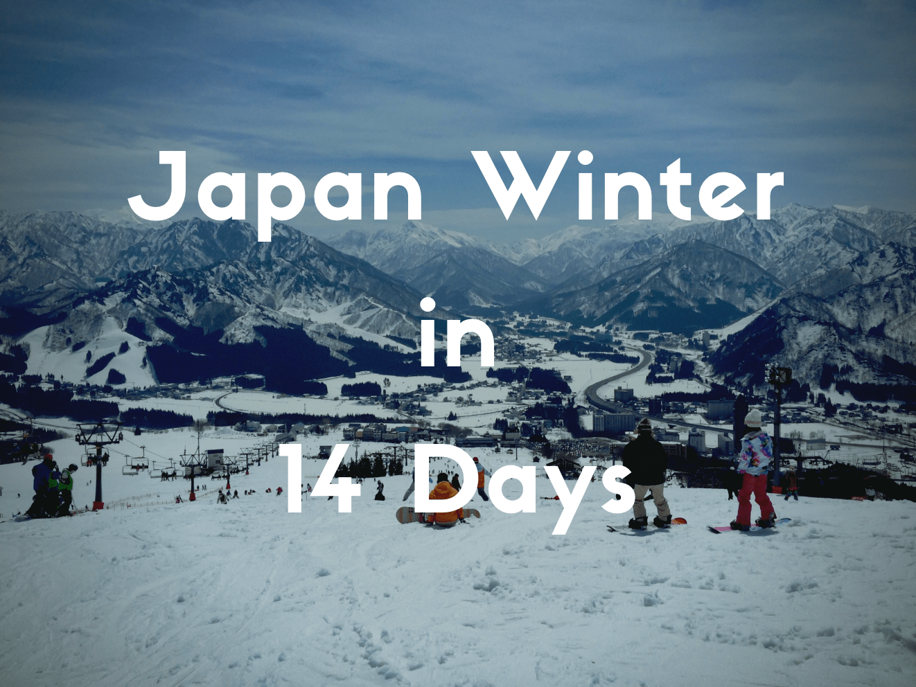 14 Days Winter Itinerary in Japan for Skiing