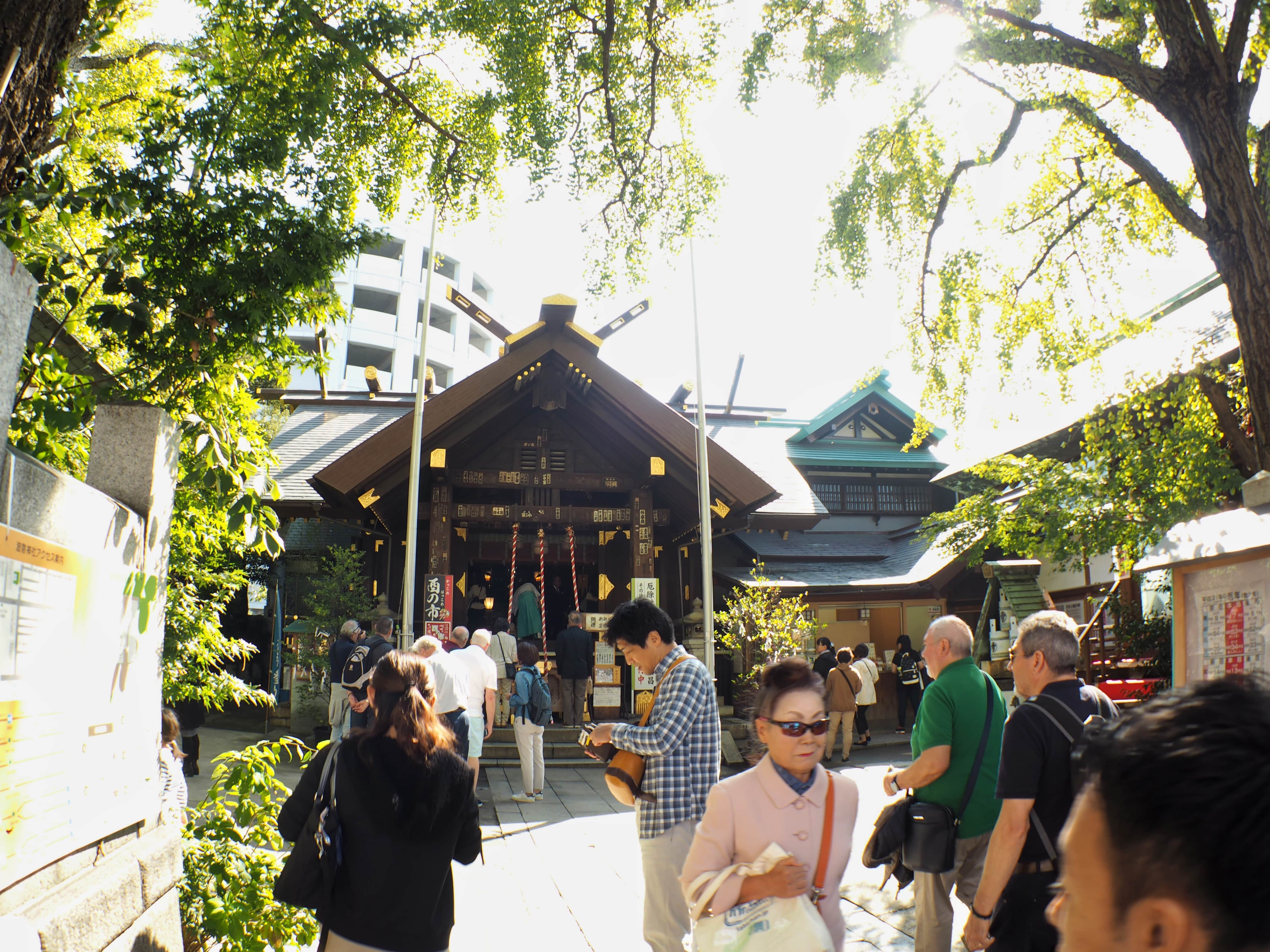 Namiyoke shrine in Tsukiji