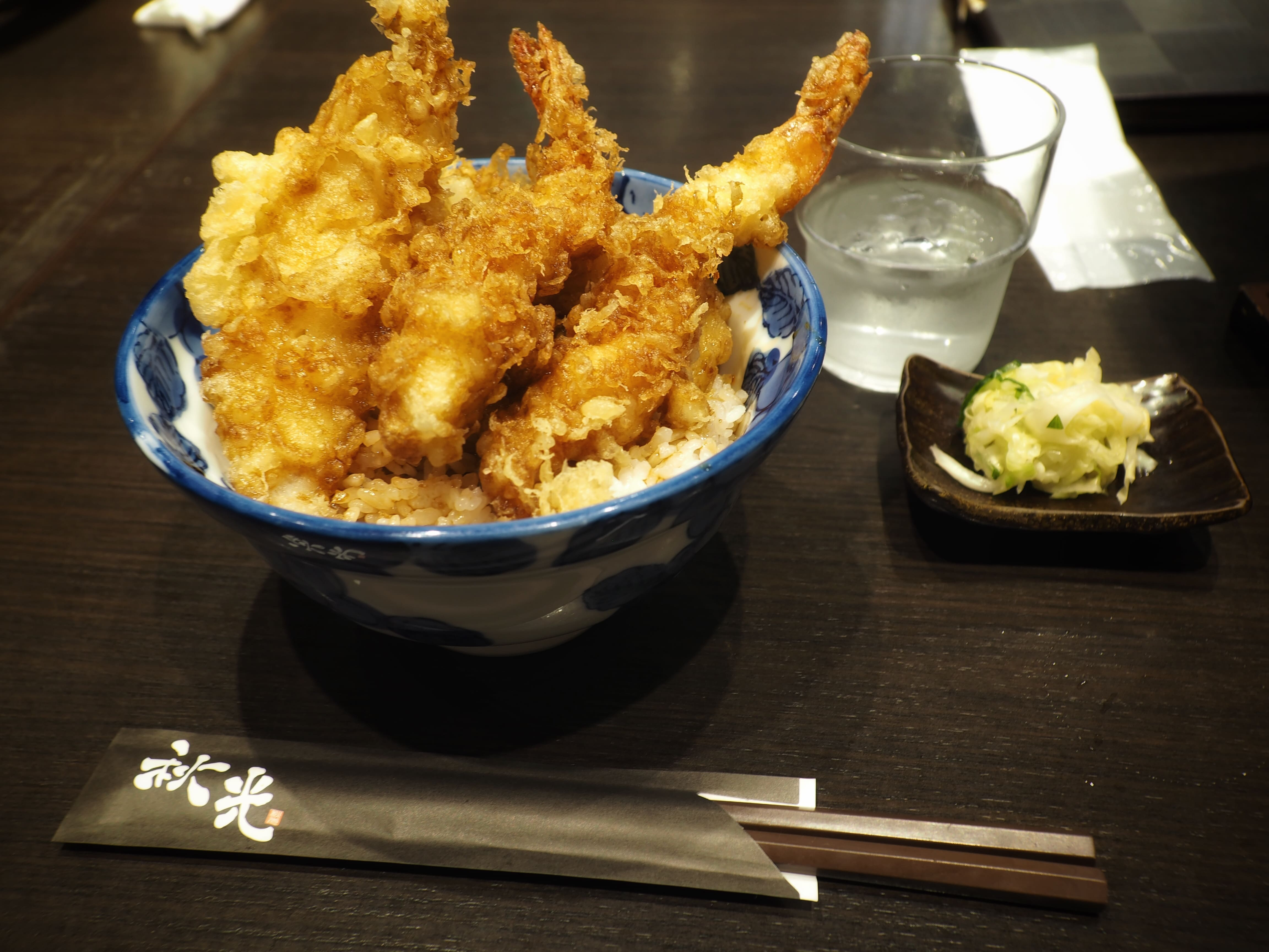 Tendon at Asakusa
