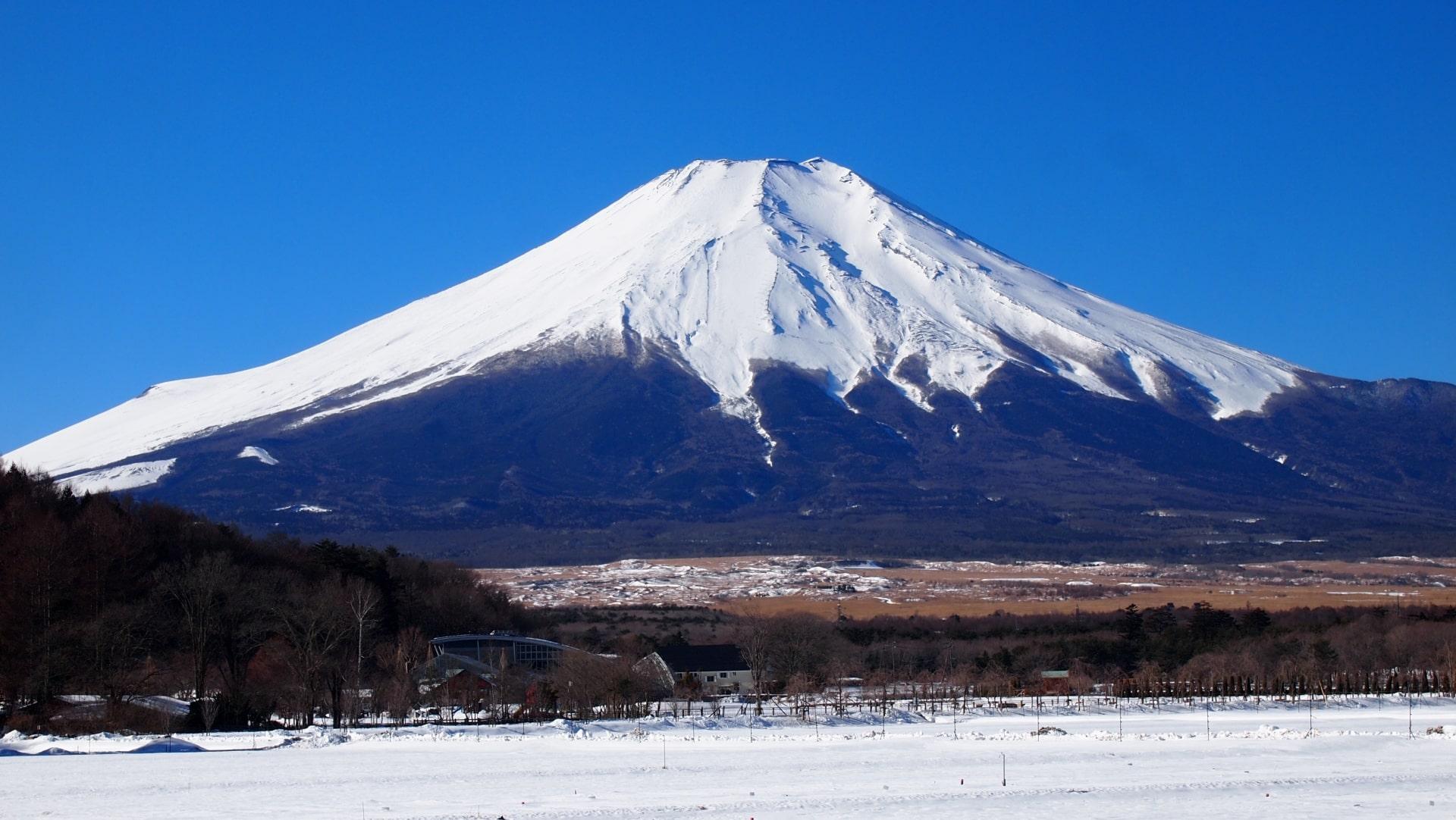 Mt.Fuji in winter