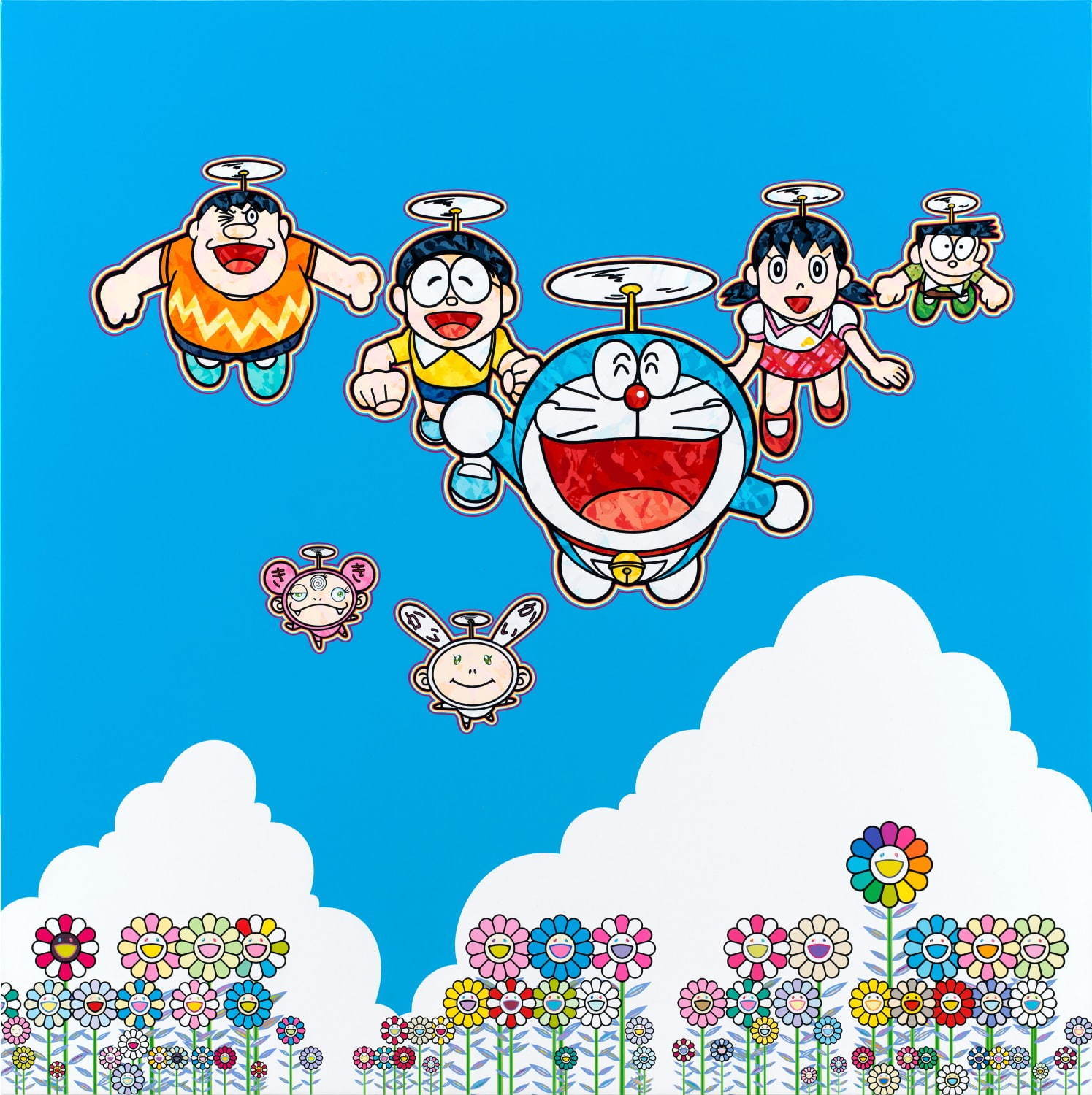 "Takashi Murakami ""Superflat Doraemon"" Exhibition"