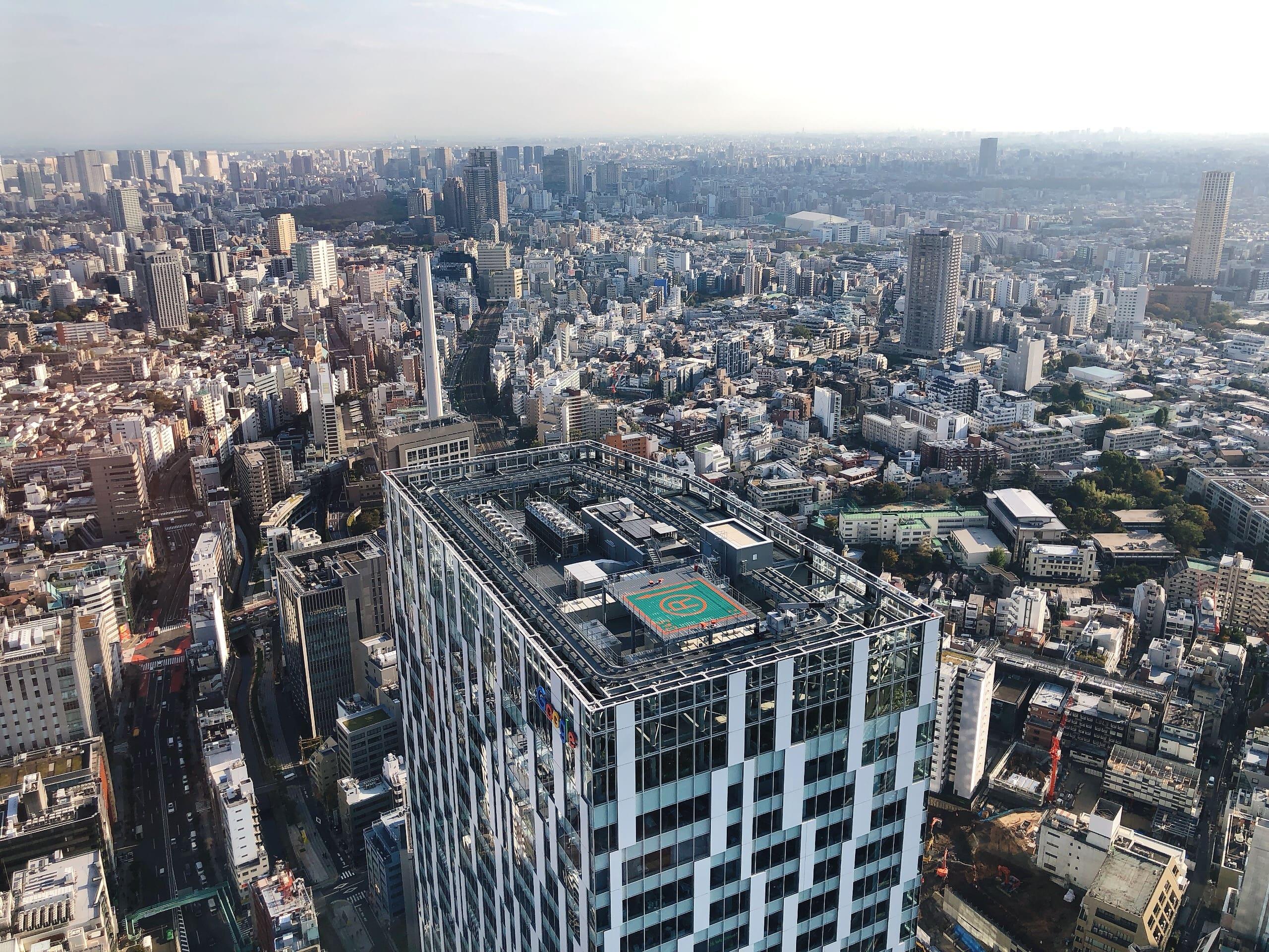 Views from Shibuya Sky