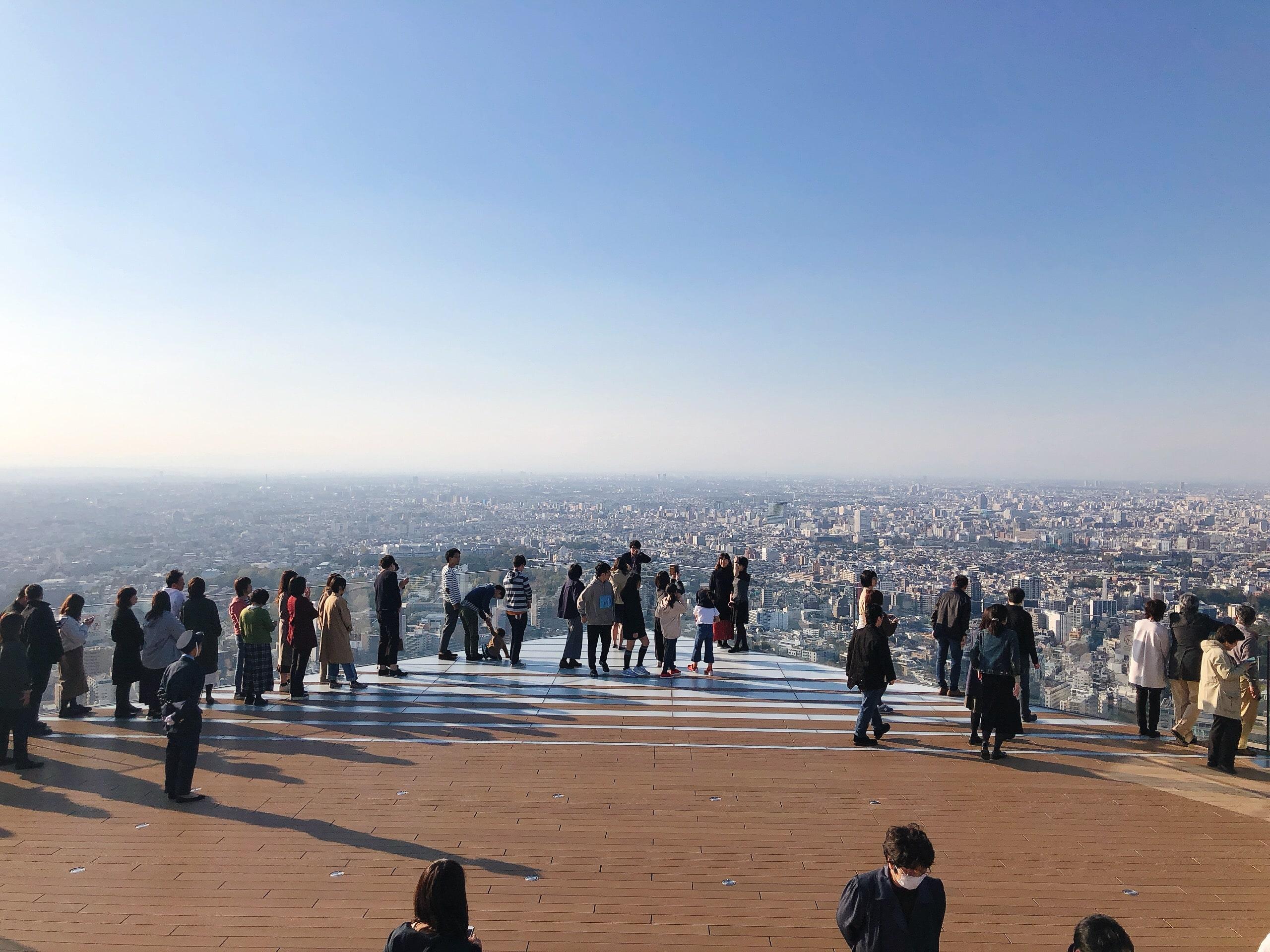 Rooftop of Shibuya Sky