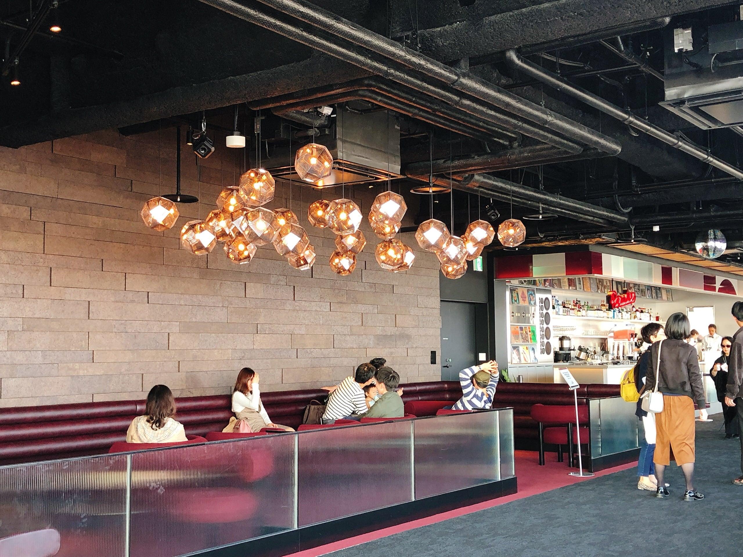 Cafe and Bar of Shibuya Sky
