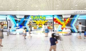 Pokemon Center and Pokemon Store in Kyoto and Osaka