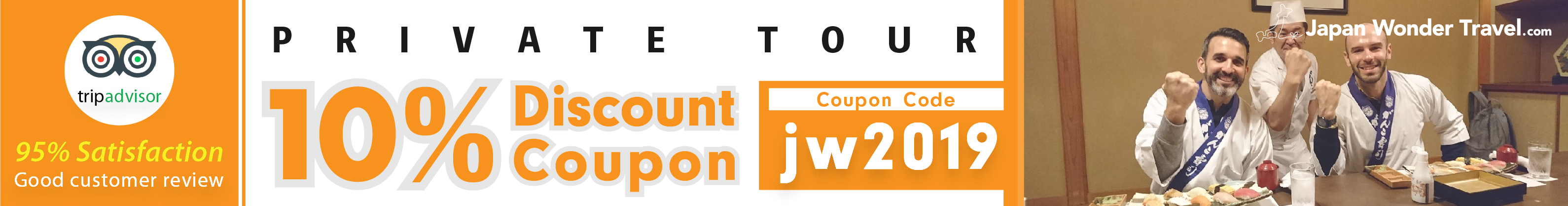 Japan Wonder Travel Discount Coupon