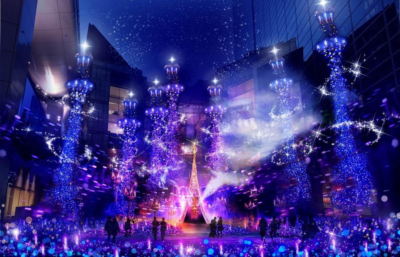Caretta Shiodome Winter Illumination