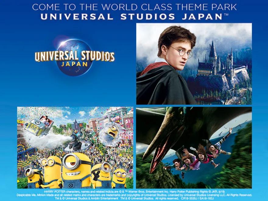 Universal Studios Japan (USJ) Event Schedule2020