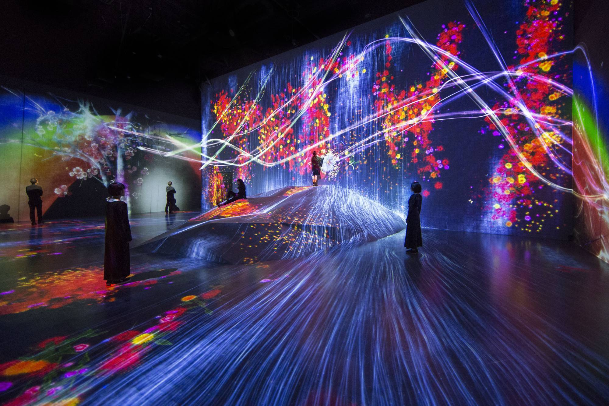 teamlab digital art museum