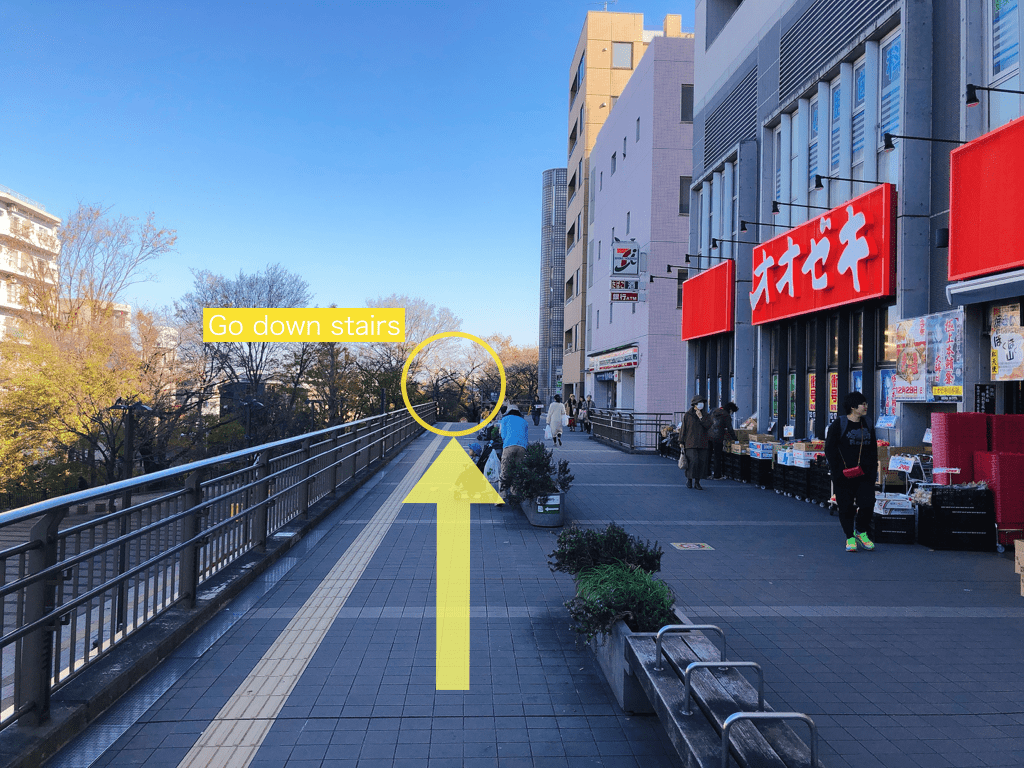 The guide to how to get from Mitaka Station to Ghibli Museum