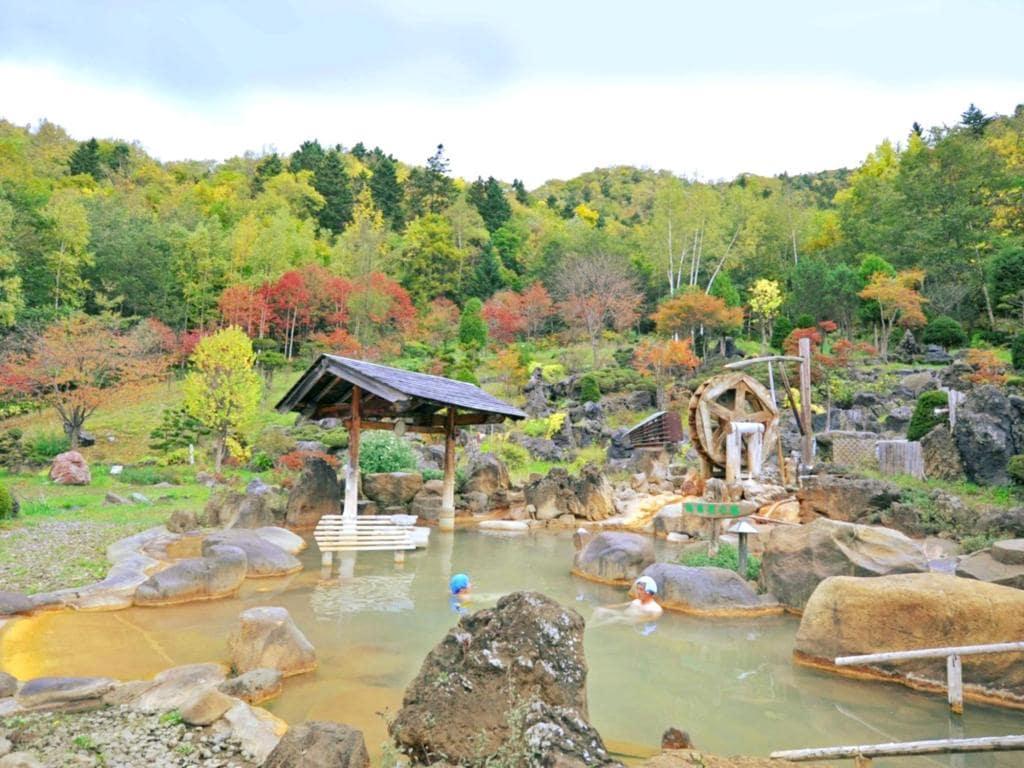 jozankyo outdoor onsen