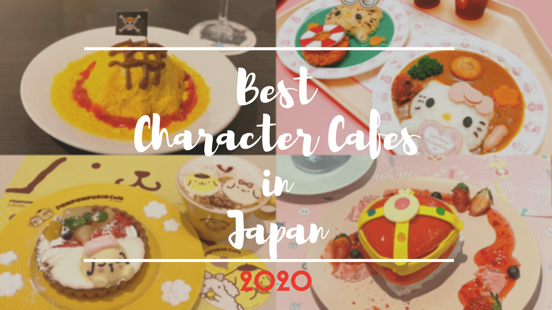 Must-Visit Character Cafes in Japan 2020