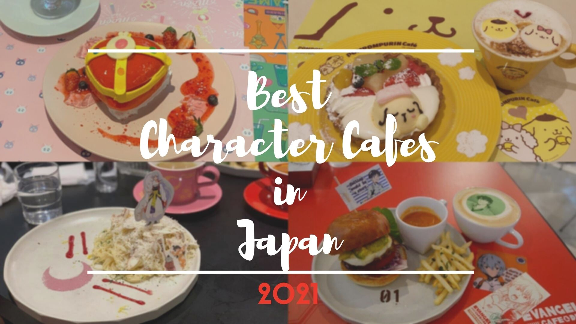 Must-Visit Character Cafes in Japan 2021