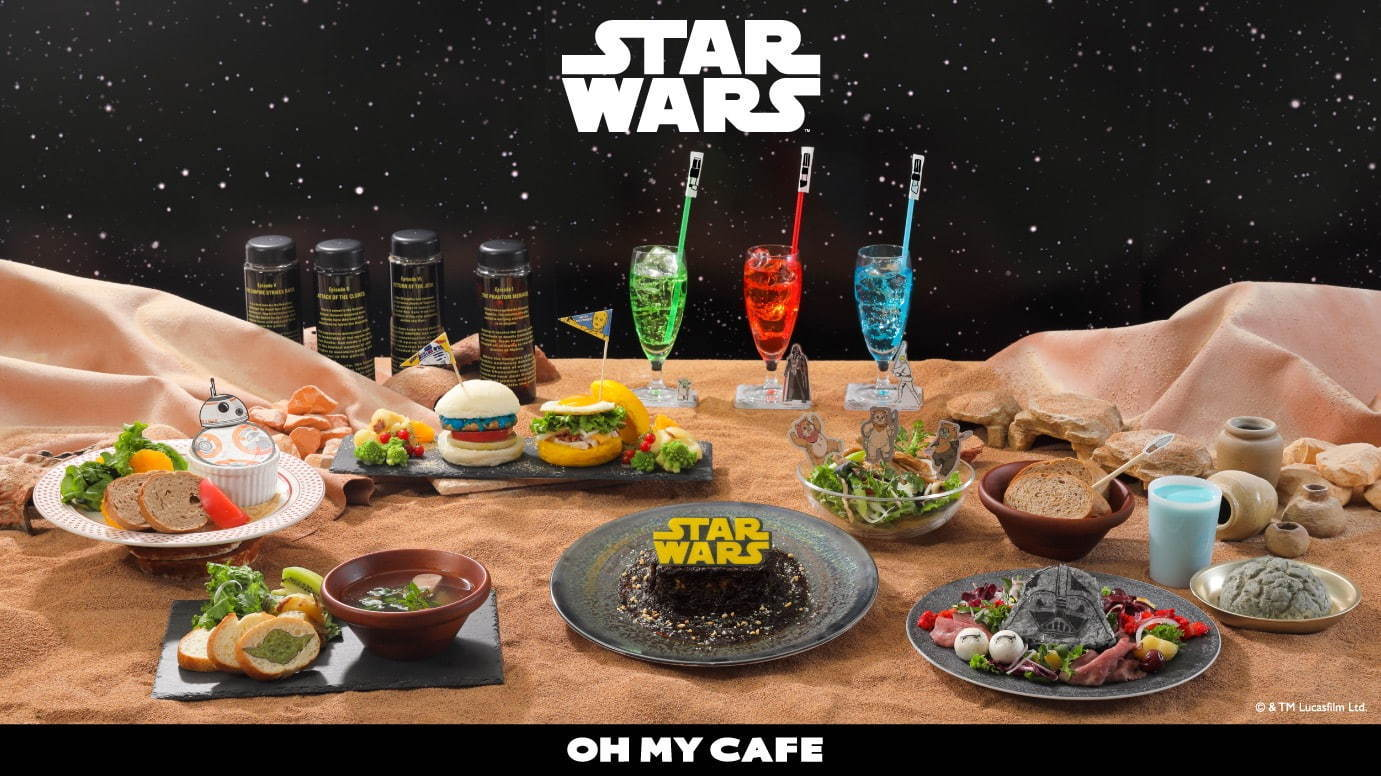 STAR WARS Theme Cafe in Japan 2020