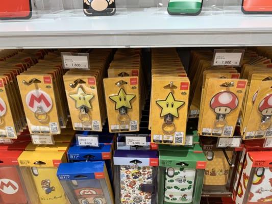 Smartphone gadget Mario