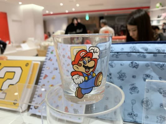 Mario glass