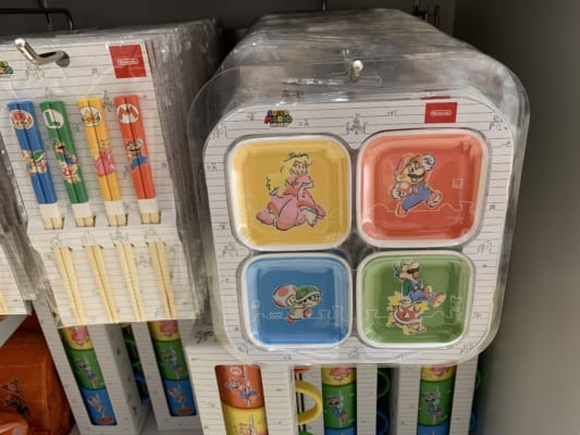 Mario Tableware