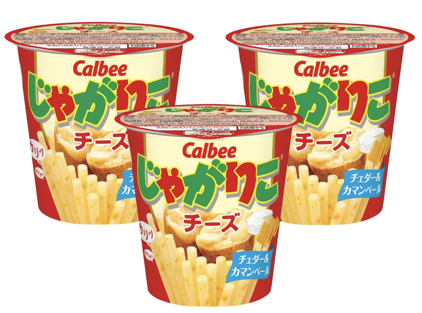 Calbee cheese potato sticks