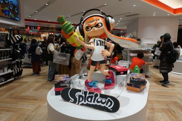 Splatoon Nintendo Store
