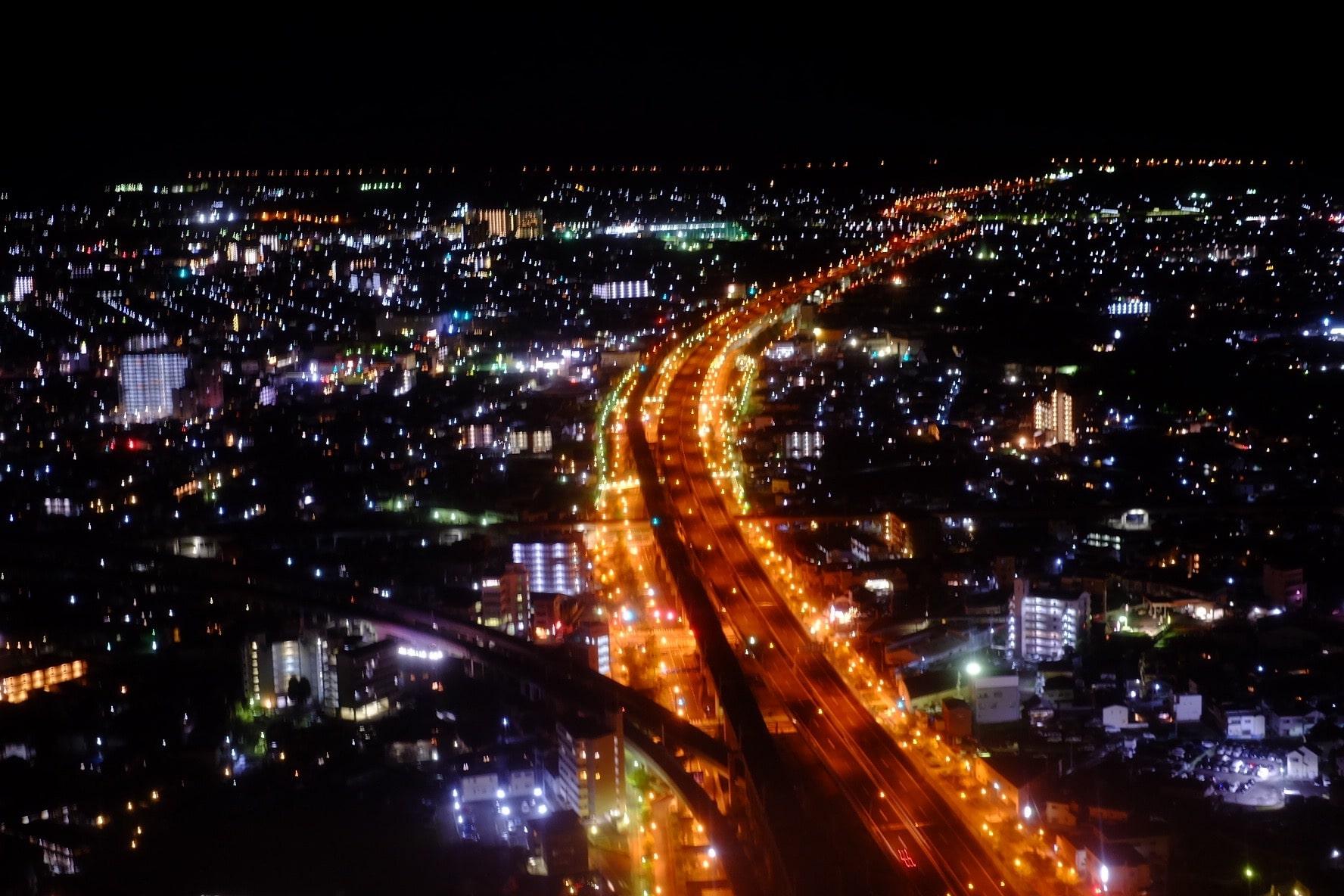 KIX night street view