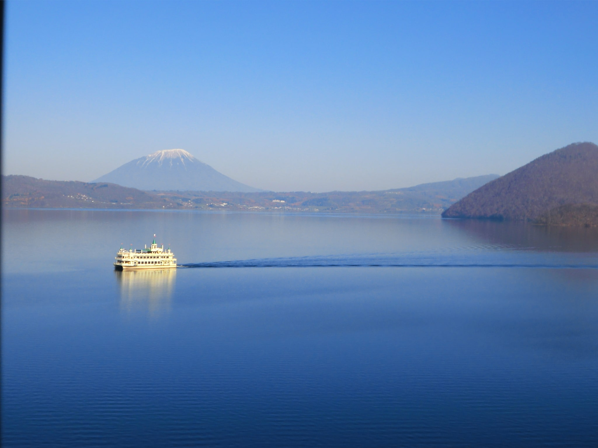 cruise on Lake Toya