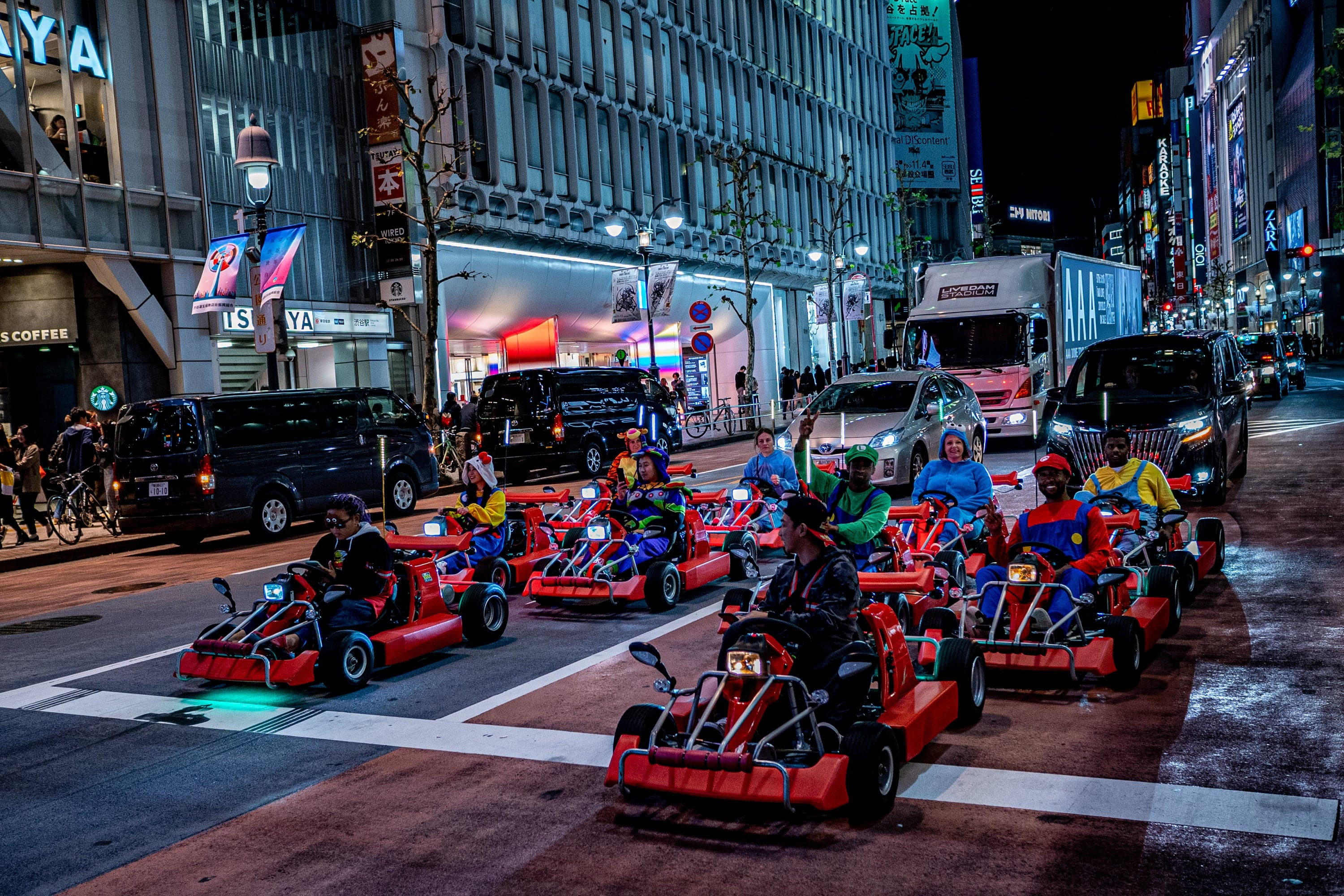 Rent a Go-Kart and ride in Tokyo