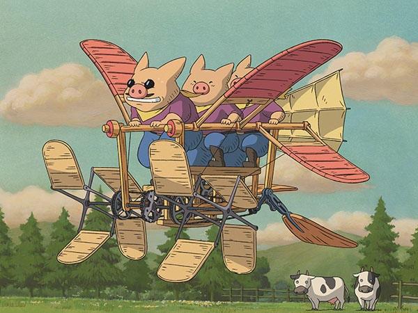 Kuso no Sora Tobu Kikaitachi (Imaginary Flying Machines)