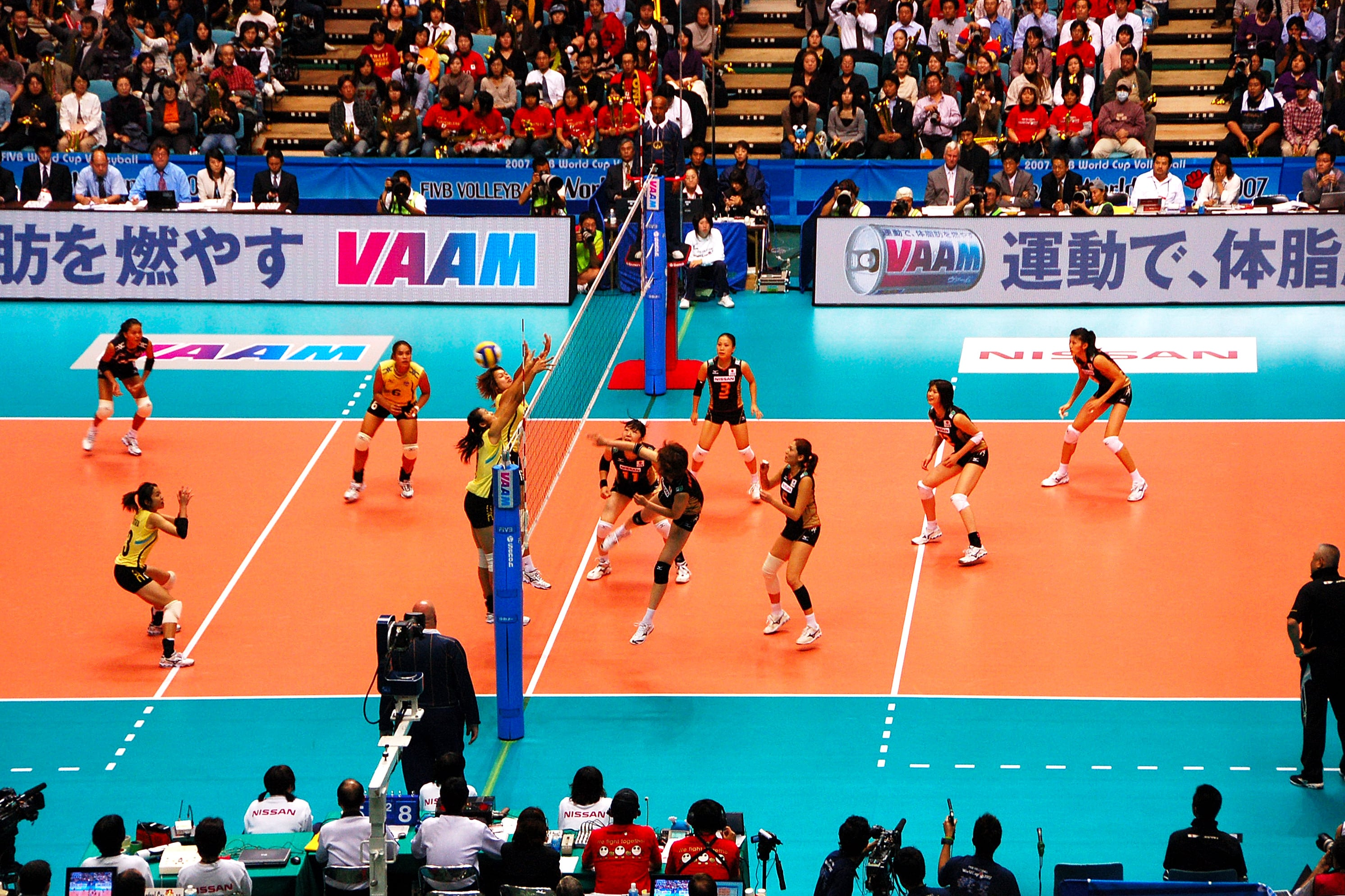 Japanese Volleyball Game