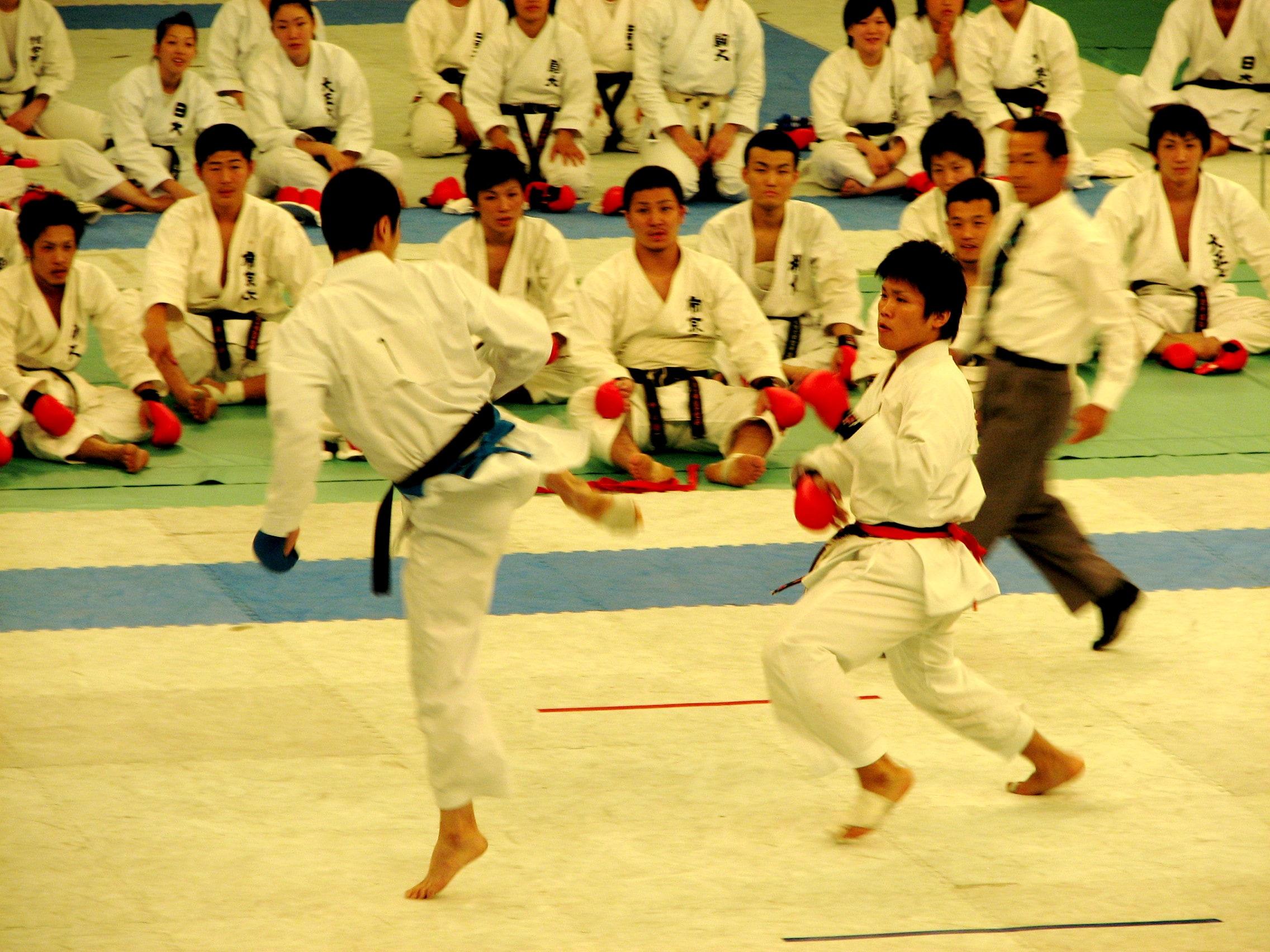 japanese karate tournament