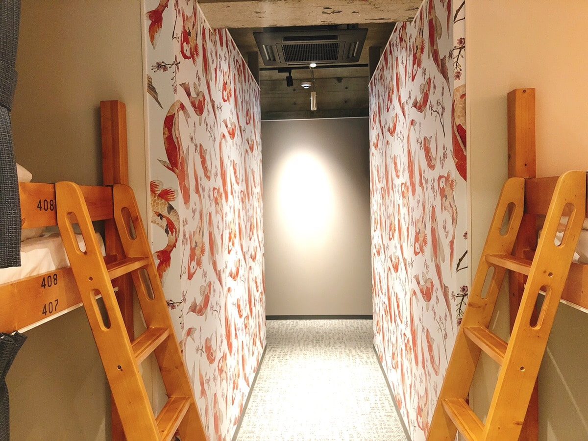 Female dormitory room