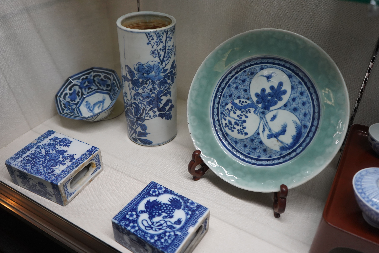 Seto ware display