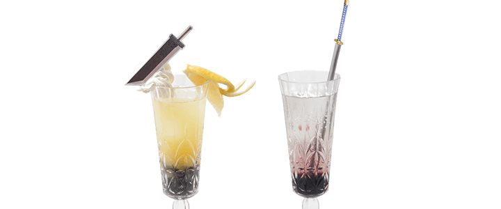 Drinks of Cloud and Sephiroth