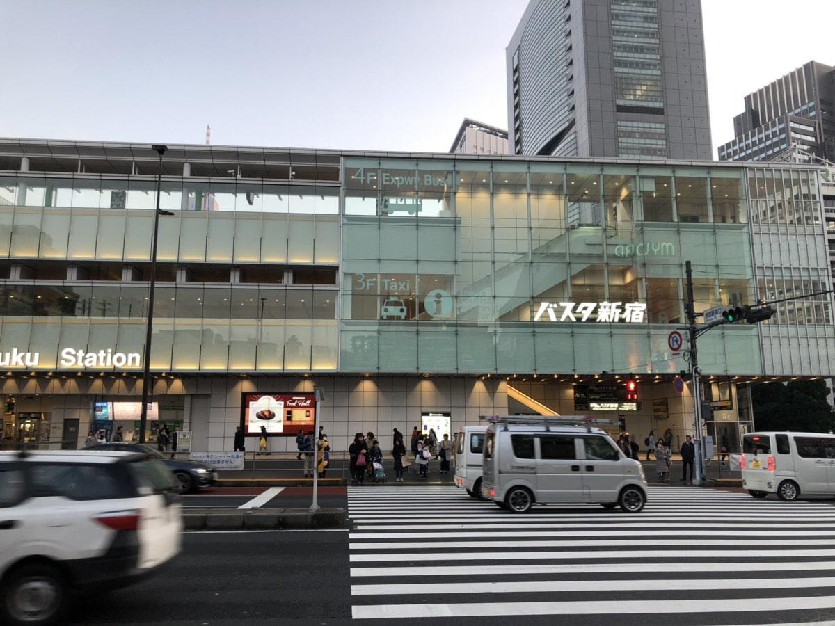 Shinjuku Bus Terminal (Busta)